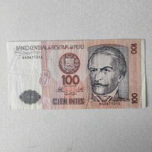 ΠΕΡΟΥ 100 CIEN INTIS 1987