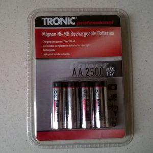 Επαναφορτιζόμενες μπαταρίες Tronic