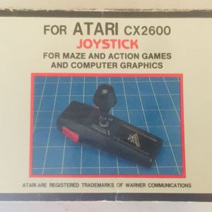 ATARI CX2600 JOUSTICK (με το κουτί του)