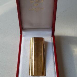 Επιχρυσωμένος αναπτήρας Cartier - Paris
