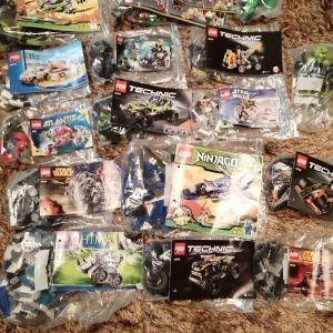 12 παιχνίδια LEGO (Πωλούνται ξεχωριστά ή όλα μαζί σύμφωνα με την περιγραφή).