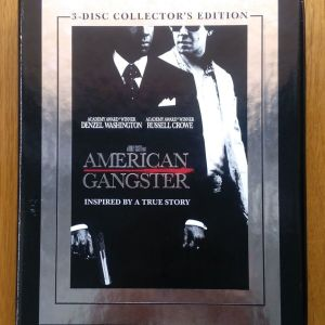 American Gangster 3 disc dvd