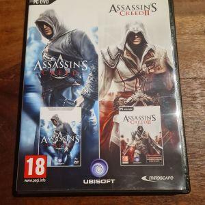 Assasin's Creed 1,2 - WRC 3 PC DVD