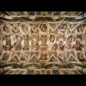 Παζλ Καππελλα Σιστινα Μικελαντζελο 100 κοματια Museum/ Puzzle Cappella Sistina 1000 Museum Michelangelo