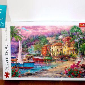 """Trefl Puzzle/Παζλ με 1500 κομμάτια Premium Quality: """"On golden shores"""""""