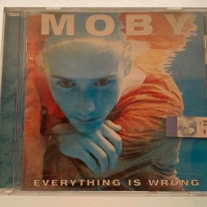 Moby - Everything is wrong cd album