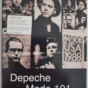 DEPECHE MODE-101-LIVE (DOUBLE DVD BOX SET)