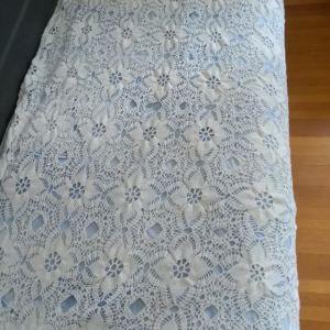 Χειροποίητη πλεκτή κουβέρτα