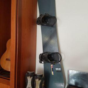 Snowboard burton με μποτες 42,5