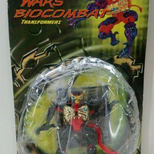 TRANSFORMERS 1999 Beast Wars Basic Class Optimus Minor MOSC MOC