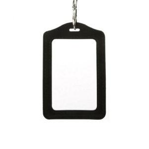 Black ID BadgeCard Holder