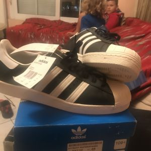 ADIDAS SUPERSTAR FULL LEATHER No 46 BRAND NEW