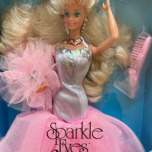 Sparkle Eyes Barbie 1992