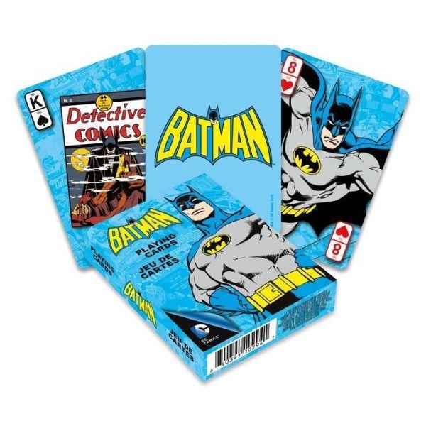 trapoula  DC Comics Playing Cards Retro Batman