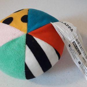 Πολύχρωμη μαλακή μπάλα ( κουδουνίστρα ) ΙΚΕΑ