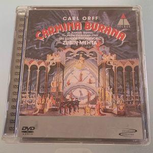 Carl Orff - Carmina burana dvd audio