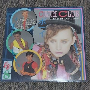 CULTURE CLUB - COLOUR BY NUMBERS 1983 MADE IN AUSTRALIA