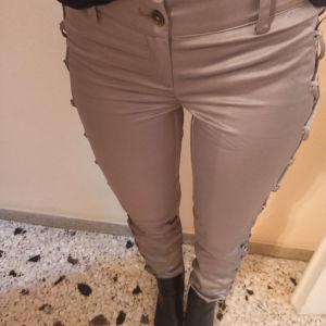 σατέν παντελόνι S