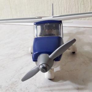 PLAYMOBIL - Αεροπλάνο μονοθέσιο μικρό