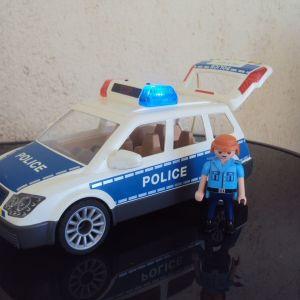 PLAYMOBIL City Action Περιπολικό όχημα με φάρο και σειρήνα .