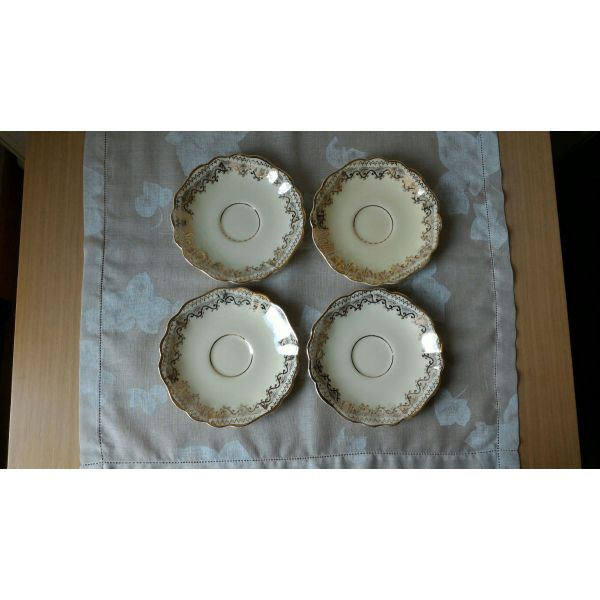 patakia (4) porselanis SUNSHINE J&G MEAKIN ENGLAND, diametrou 14,50 ekatoston