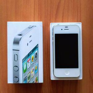 Iphone 4s λευκό, πλήρως λειτουργικό, στο κουτί του, με 2 φορτιστές (σπίτι/αυτοκίνητο) και σπάνια θήκη