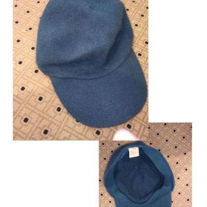 καπέλο μάλλινο μπλε
