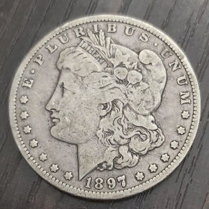 Morgan 1897  SILVER