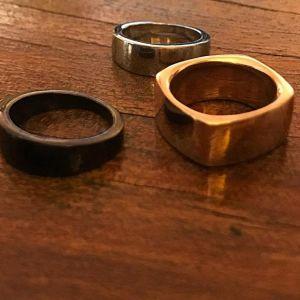 Δαχτυλίδια Ατσάλι Αρίστης Ποιότητας