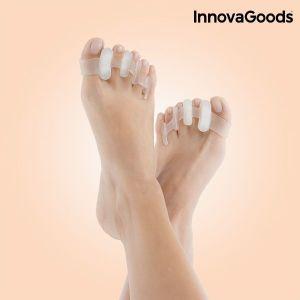 Χαλαρωτικοί Διαχωριστές Δαχτύλων InnovaGoods (Πακέτο με 2)