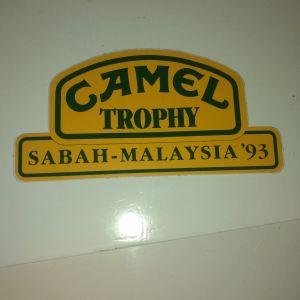 Αυτοκολλητο camel rally 1993