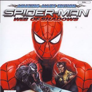 SPIDERMAN WEB OF SHODOWS - PS2