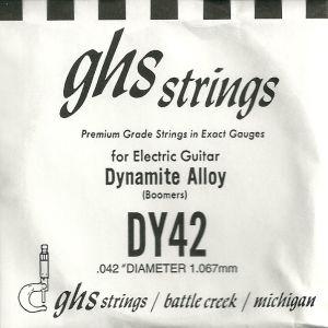 Χορδή Ηλεκτρικής Κιθάρας GHS DY42