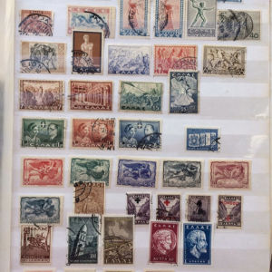70 ελληνικες σειρες γραμματοσημων απο το 1924