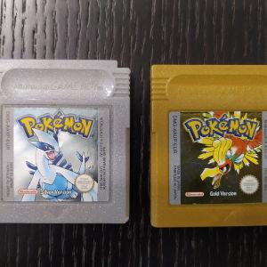 Original Pokemon silver and gold! Gameboy