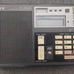 Sony ICF-7600 D FM/LW/MW/SW PLL SYNTHESIZED WORLD  RECEIVER