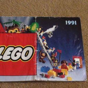 Κατάλογος Lego του 1991, στα ελληνικά