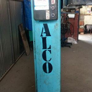 Ανυψωτηρας αυτοκινητων. Γαλλικος μαρκας ALCO. Δουλευει κανονικα και βρισκεται στην Λαρισα.