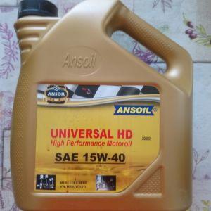 Λάδι Αυτοκινήτου Ansoil Universal HD 20002B 15W-40 4lt