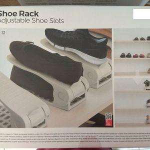 Ρυθμιζόμενος Οργανωτής Παπουτσιών Shoe Rack InnovaGoods (6 Ζευγάρια)