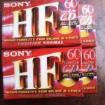 4 Κασετες Sony HF 60