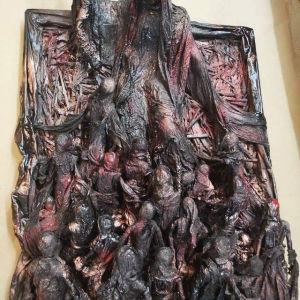 Πινακας ανάγλυφος - Grim Reaper - Gothic art
