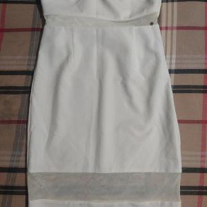 Φόρεμα λευκό toi moi