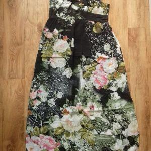 βαμβακερό επώνυμο φόρεμα με φόδρα L/xL