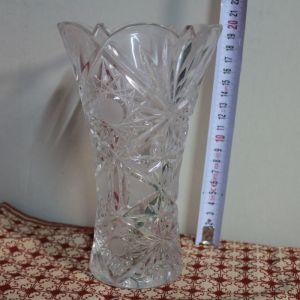 Κρυστάλλινο βάζο Βοημίας (κωδ. 5704)