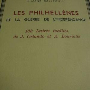 EUGENE DALLEGGIO.LES PHILHELLENES