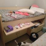 Κουκετα κρεβάτι γραφείο