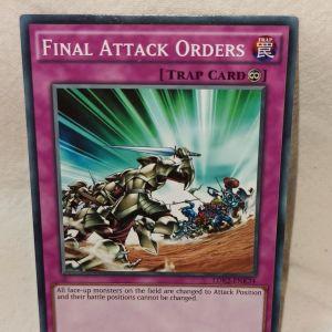 FINAL ATTACK ORDER -YuGiOh