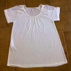 Μπλουζάκι εκρου Stefanel