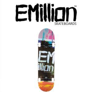 EMILLION LOGO SERIES COMPLETE SKATE STENCIL 8.25